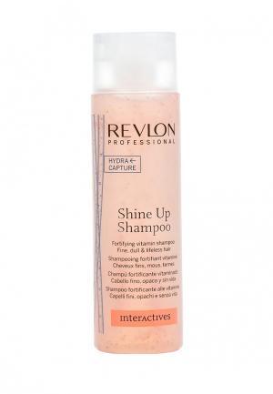 Шампунь укрепляющий Revlon Professional. Цвет: белый
