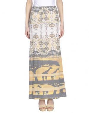 Длинная юбка KATE. Цвет: белый