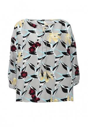 Блуза Baon. Цвет: серый