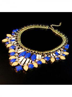 Ожерелье BB1. Цвет: синий
