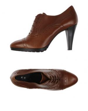 Обувь на шнурках KEYS. Цвет: коричневый