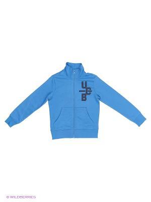 Толстовка United Colors of Benetton. Цвет: серо-коричневый, серый