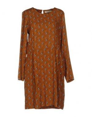Короткое платье NICE THINGS BY PALOMA S.. Цвет: верблюжий