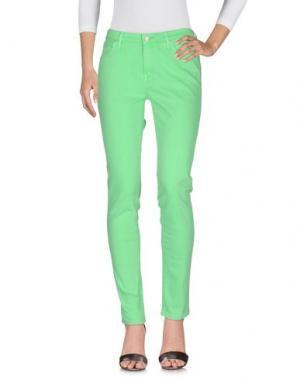 Джинсовые брюки LEE. Цвет: светло-зеленый