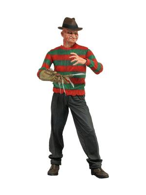 Фигурка Nightmare on Elm Street 7 Series 4 - Powerglove Freddy /5шт in Neca. Цвет: красный