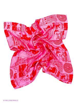 Платок Michel Katana. Цвет: розовый, красный