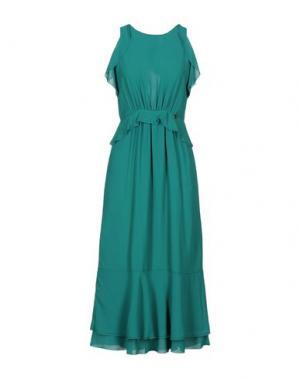 Длинное платье SOUVENIR. Цвет: зеленый