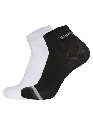 Носки, 2 пары Icepeak. Цвет: белый, черный