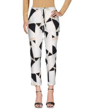 Повседневные брюки DORALICE. Цвет: слоновая кость
