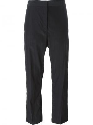 Укороченные брюки Jil Sander. Цвет: чёрный