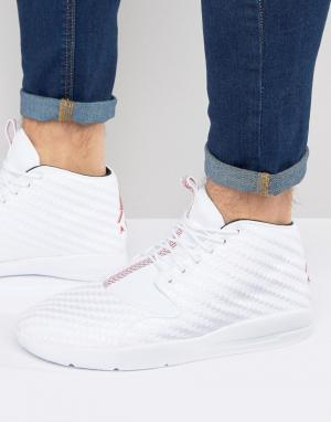 Jordan Белые кроссовки чукка Nike Air Eclipse 881453-101. Цвет: белый