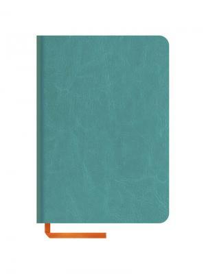 Записная книжка Nebraska soft Office space. Цвет: бирюзовый