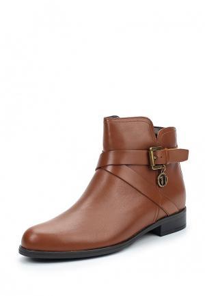 Ботинки Trussardi Jeans. Цвет: коричневый