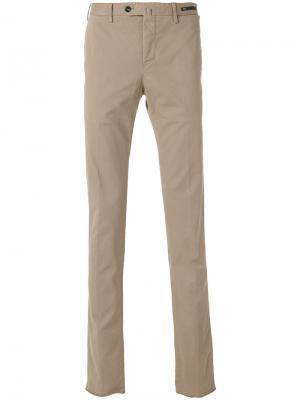 Классические брюки Pt01. Цвет: телесный