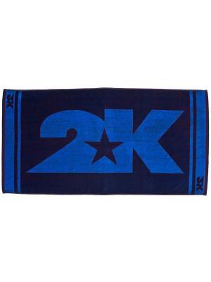 Полотенце махровое 2K. Цвет: темно-синий, синий