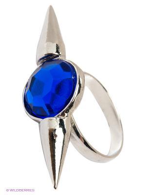 Кольцо Top Secret. Цвет: серебристый, синий