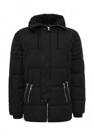 Куртка утепленная Sixth June. Цвет: черный