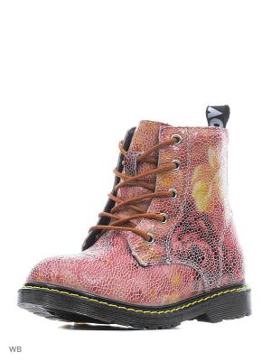 Ботинки Crosby. Цвет: коралловый, желтый