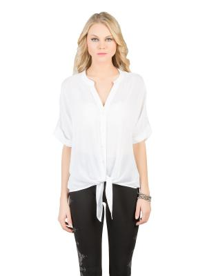 Блузка Colin's. Цвет: белый