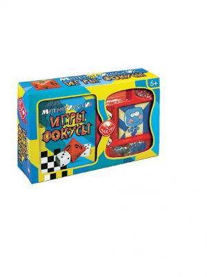 Математические игры и фокусы Fun kits. Цвет: голубой