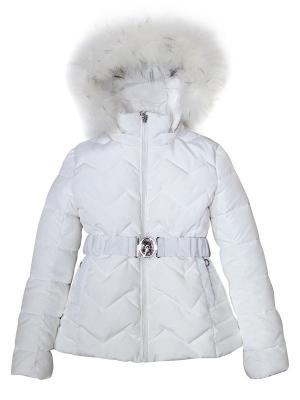 Куртка Pulka. Цвет: белый