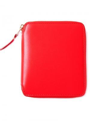Кошелек Colour Plain на молнии Comme Des Garçons Wallet. Цвет: жёлтый и оранжевый