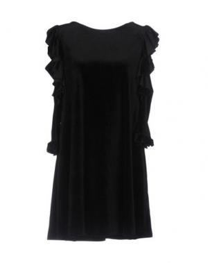 Короткое платье GUTTHA. Цвет: черный