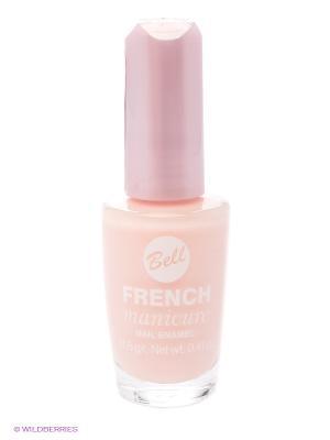 Устойчивый гипоаллергенный лак для ногтей French Manicure, тон 4 Bell. Цвет: бледно-розовый