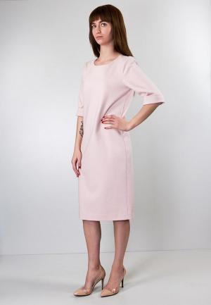 Платье Marina Rimer. Цвет: розовый