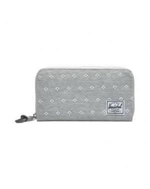 Бумажник HERSCHEL SUPPLY CO.. Цвет: светло-серый