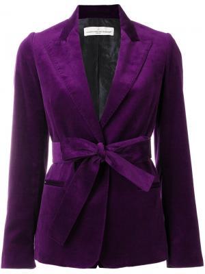 Пиджак Ester Golden Goose Deluxe Brand. Цвет: розовый и фиолетовый