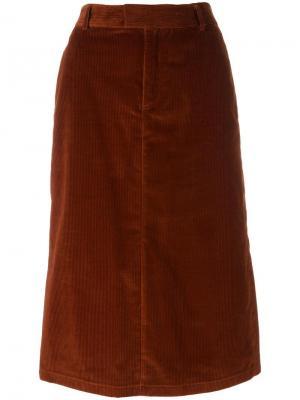 Юбка Constance A.P.C.. Цвет: красный