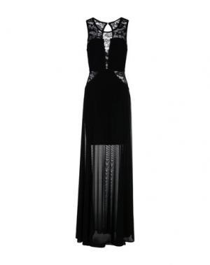 Длинное платье NO SECRETS. Цвет: черный