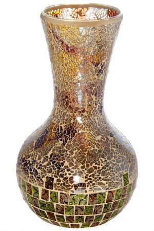 Ваза декоративная 35 см Русские подарки. Цвет: коричневый
