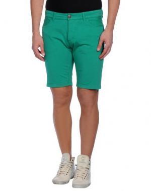 Бермуды PRAIO. Цвет: зеленый