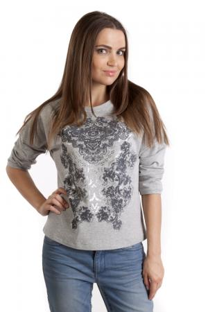 Пуловер Apanage. Цвет: серый