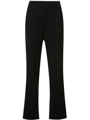 Straight tailored trousers Josie Natori. Цвет: чёрный