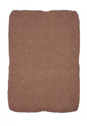 Покрывало Arloni. Цвет: коричневый