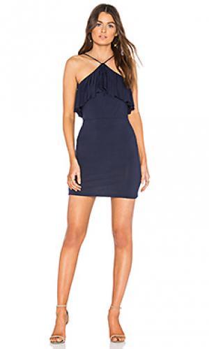 Платье lane De Lacy. Цвет: синий