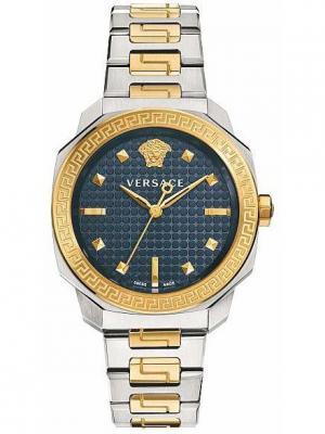 Часы Versace. Цвет: синий