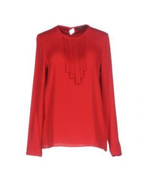 Блузка STRENESSE. Цвет: красный