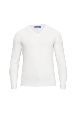 Кашемировый джемпер 160341 Blue Sky Cashmere. Цвет: белый
