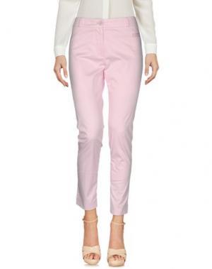 Повседневные брюки GAI MATTIOLO JEANS. Цвет: светло-розовый