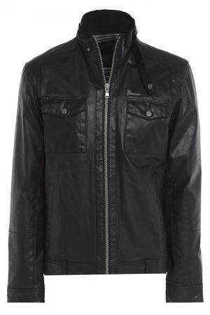 Куртка Barneys originals. Цвет: черный