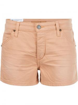 Джинсовые шорты  Joes Jeans Joe's. Цвет: жёлтый и оранжевый