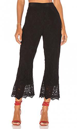 Укороченные брюки-клеш japura Jens Pirate Booty Jen's. Цвет: черный