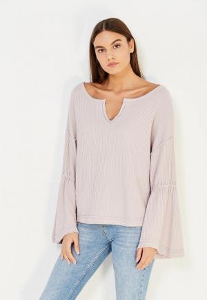 Пуловер Free People. Цвет: розовый