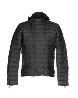 Куртка SSEINSE. Цвет: темно-зеленый