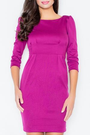Платье Figl. Цвет: fuchsia