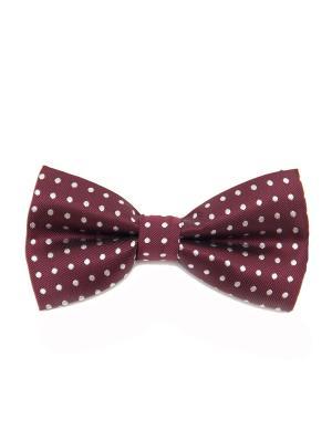 Галстук-бабочка Churchill accessories. Цвет: темно-бордовый, темно-красный, бордовый, красный, белый